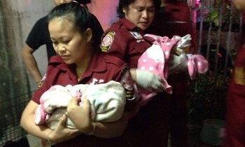สาวปิดเรื่องท้อง คลอดลูกแฝด-ตกเลือดดับ เด็กรอด