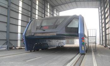 จำได้ไหม? โปรเจครถบัสจีน สร้างคร่อมถนน มาดูสภาพในวันนี้