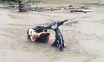 น้ำท่วมสุราษฎร์ฯน่าห่วงฝนหนักหลายจุดวิกฤติ