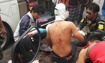 เลือดอาบ! นักเรียนช่างยกพวกตีกันหน้าห้างดังนนทบุรีตาย 1 เจ็บ 5