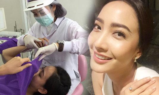 แต้ว ณฐพร ฟันขาวเรียงสวยเพราะพี่สาวเป็นทันตแพทย์ใจดี