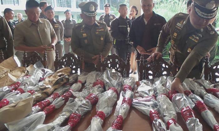 """ตำรวจพบไรเฟิลบ้าน """"เปรมชัย"""" ชนิดเดียวกับที่ยิงช้างกุยบุรี"""