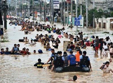 รัฐบาลฟิลิปปินส์เผยรับมือภัยน้ำท่วมไม่ไหว