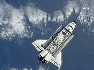 ยานแอตแลนติสเชื่อมต่อสถานีอวกาศนานาชาติ