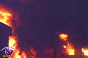 ไฟไหม้ร้านวัสดุก่อสร้างกลางเมืองแพร่วอดกว่า 30 ล้านบาท