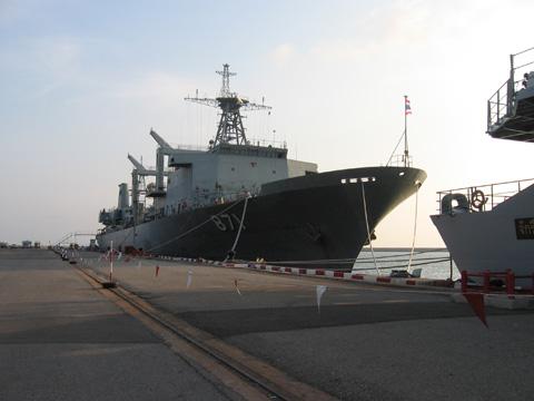 ปราบโจรสลัด ไทยปล่อยเรือร่วมรบสหประชาชาติ
