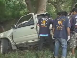 นักแข่งมอเตอร์ครอสดัง ซิ่งกระบะตายคู่ที่ประจวบฯ