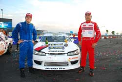 Potenza Performance Team in Goodyear International Drift Series 2010 Rd.3-4
