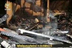 ระทึก! ไฟไหม้ชุมชนย่านสะพานควาย เจ็บ 3 ตาย 1