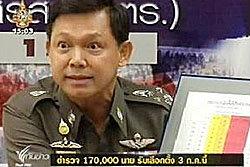จัดกำลังตำรวจ 170,000 นาย รับมือเลือกตั้ง 3 ก.ค.นี้