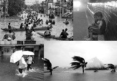 ประมวลภาพ พายุไต้ฝุ่นนาลแก ถล่มเอเชีย
