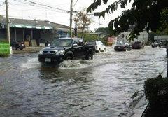 เขตบางเขนแจงชาวบ้าน เหตุระดับน้ำลดลงช้า