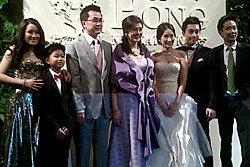 งานฉลองสมรส เอม พินทองทา พงศ์ ณัฐพงศ์