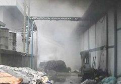 ไฟไหม้โรงงานปั่นฝ้ายสระบุรี ผลาญวอด 100 ล้าน