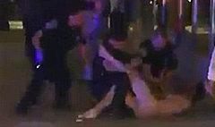 ยังกับนินจา! หนุ่มมะกันวิ่งแก้ผ้าหนีตำรวจ