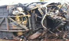 รถทัวร์เกาะพะงันคว่ำ ฝรั่งตายเพียบ คาดหลับใน