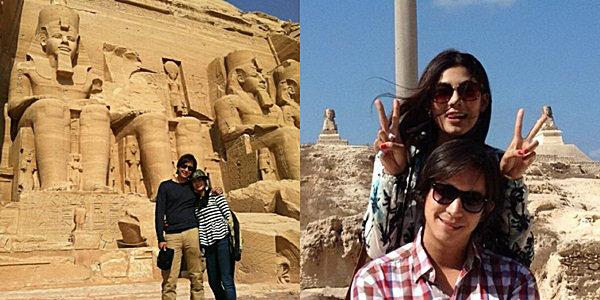หลุยส์ นุ่น บินเที่ยวลั้ลลาอียิปต์
