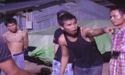 แรงงานไทย-พม่ายกพวกตีกันกลางดึกกว่า 800 คน