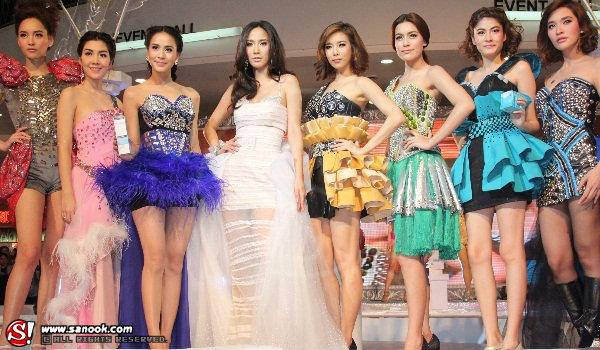 อลังการแฟชั่นโชว์ กับ 8 นางเอกแถวหน้าของเมืองไทย