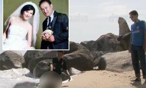 สุดสลด! คู่รักจีนฮันนีมูนเกาะสมุย-ฝ่ายหญิงตกน้ำสามีโดดช่วย-ดับทั้งคู่