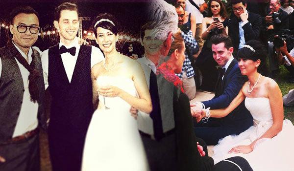 ญารินดา ควง แฟนหนุ่มฝรั่ง แต่งงานส่งท้ายปี