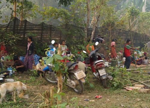 สสจ.แม่ฮ่องสอนระดมช่วยผู้ลี้ภัยไฟไหม้-ยอดตาย37ราย