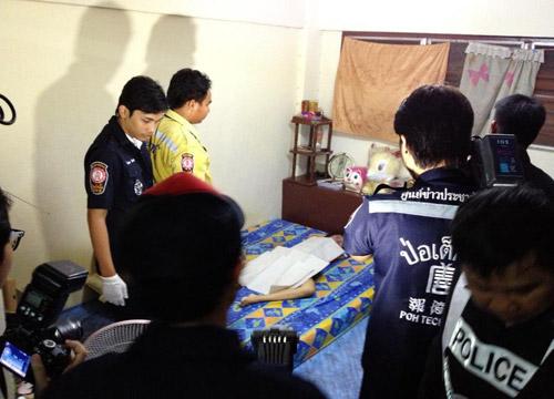 หญิงพม่าถูกฆ่าข่มขืนหมกห้องเช่า-ห้วยขวาง