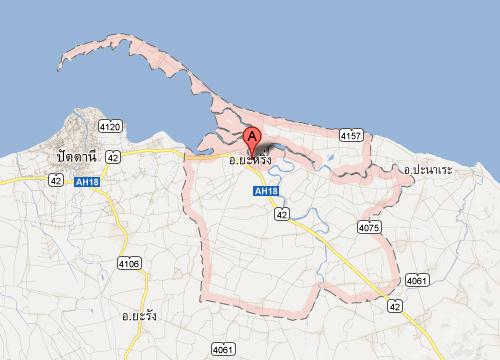 ระเบิดป้อมจุดตรวจปัตตานีชาวบ้านเจ็บ1ราย