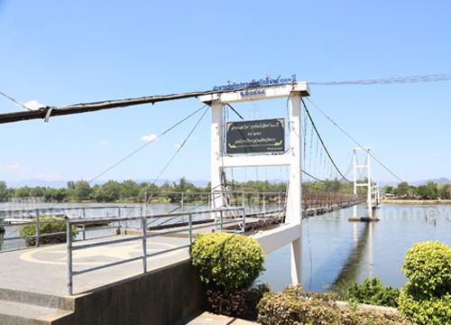 ตรวจสะพานแขวนที่ตากไม่พบชำรุด