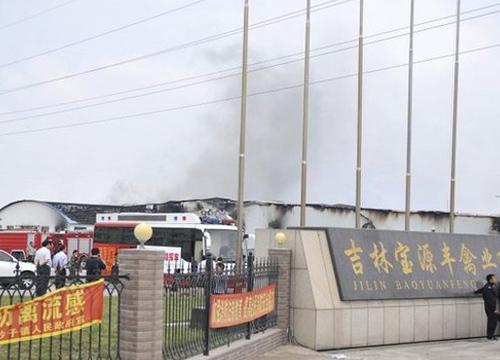 ยอดตายไฟไหม้โรงงานไก่จีนพุ่ง112ราย
