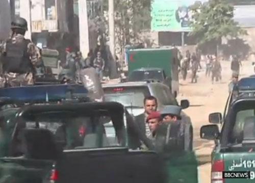 ตาลีบันโจมตีทำเนียบปธน.อัฟกานิสถานตายเรียบ