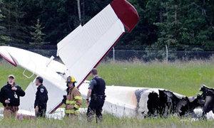 เครื่องบินเล็กตกในรัฐอลาสกา ตายยกลำ 10 ศพ