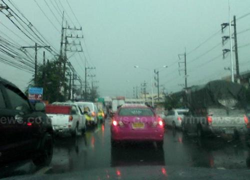 อุตุฯพยากรณ์อากาศช่วงเย็นฝนลดลง