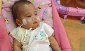 น้องโมจิ เด็ก 6 เดือน ป่วยโรคพันธุกรรม เสียชีวิตแล้ว