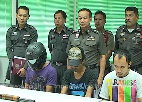 ตร.จันทบุรีจับหัวหน้าเด็กแว้นแก๊งกวนเมือง