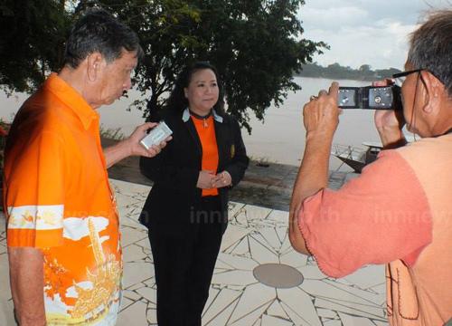 ผู้ตรวจยันสะพานไทยลาว6สร้างบ้านปากแซง
