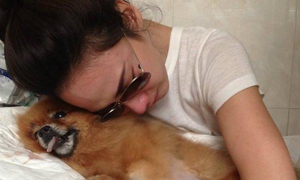 อั้ม พัชราภา ปล่อยโฮ กีต้าร์ หมาตัวโปรดตาย