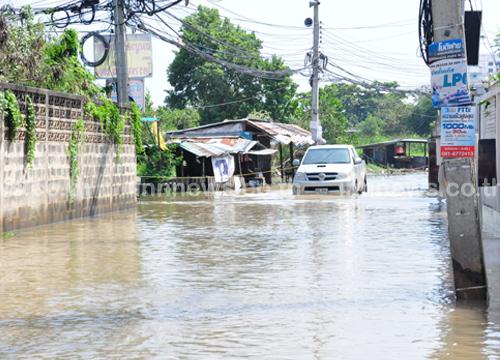 ตัวเมืองโคราชวิกฤติ น้ำสูงต่อเนื่อง