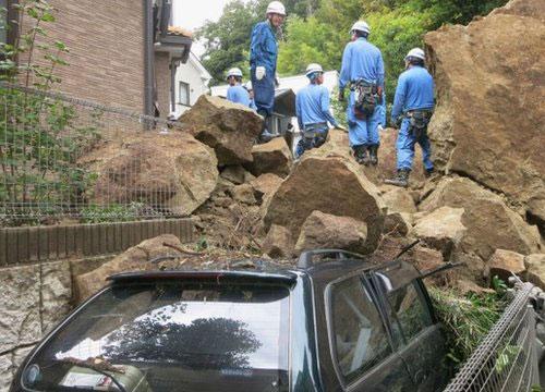 ยอดดับพุ่ง14ศพ หลังพายุวิภาเข้าถล่มโตเกียว