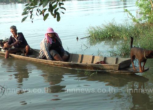 น้ำท่วมปราจีนบุรีคลี่คลายแล้วกว่า70%