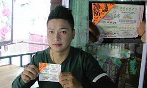 หนุ่มชัยนาทดวงเฮง ถูกหวย 52 ล้าน