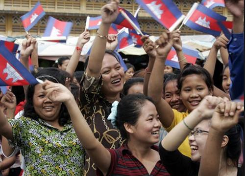 ชาวกัมพูชาลั่นไม่มีความยุติธรรมไม่มีความสงบ