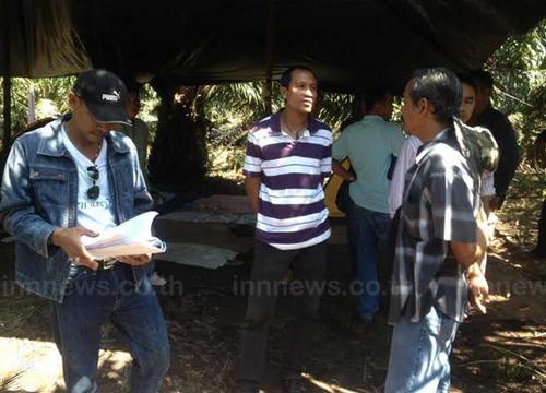 ส.คนไทยไร้ที่ดินทำกินกระบี่ยึดสวนปาล์มเอกชน