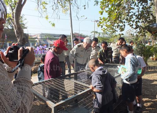 ปราจีนบุรีเปิดงานวันคุ้มครองสัตว์ป่าแห่งชาติ