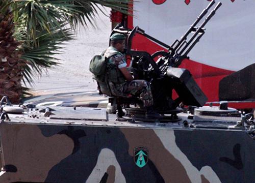 เลบานอนยิงโต้เครื่องบินรบซีเรียเหตุรุกล้ำน่านฟ้า