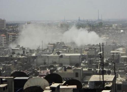 เหตุปะทะระหว่างกบฏ-จนท.อิรักในซีเรียดับ59