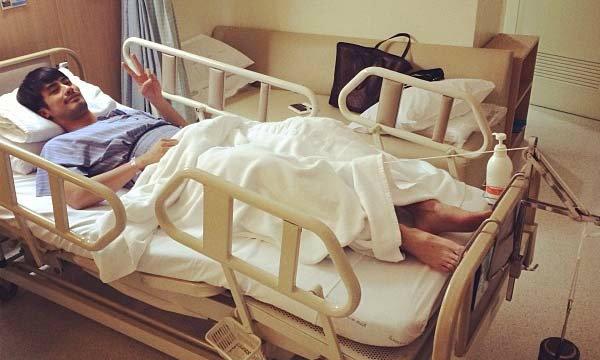 หาม บอย ปกรณ์ ส่งโรงพยาบาลเหตุโหมออกกำลังหนัก
