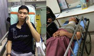 ตำรวจโดนทำร้ายร่างกายบาดเจ็บสาหัสขณะลงพื้นที่หาข่าว