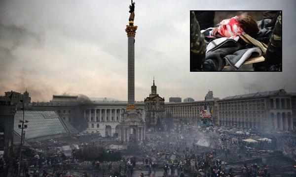 ประท้วงในยูเครนเสียชีวิตอีกกว่าร้อยคน
