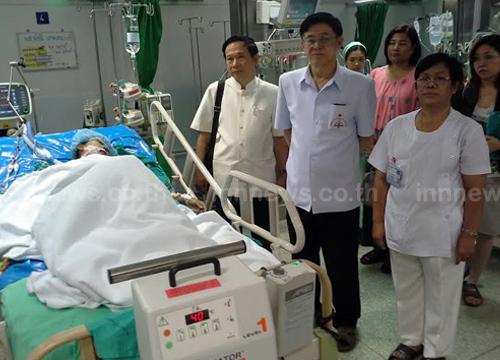 ร.พ.อุดรธานีผ่าตัดหัวใจสำเร็จเป็นรายแรก